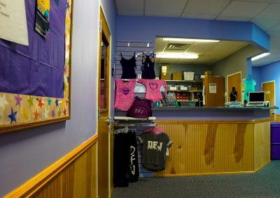 DFJ Desk and Merchandise